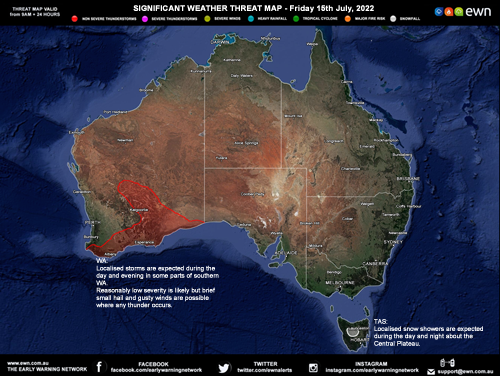EWN - The Early Warning Network - Free Weather Warnings - Australia ...