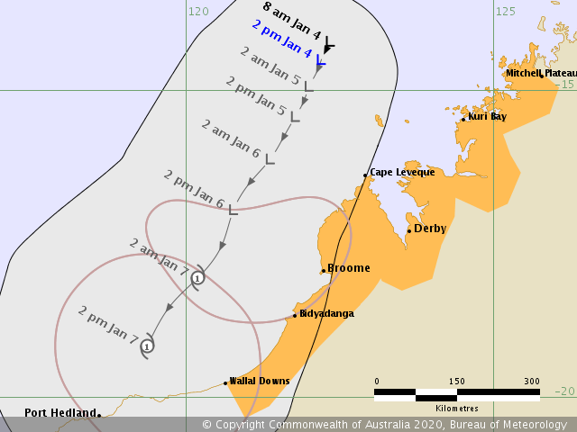 Wa Tropical Cyclone Watch Mitchell Plateau To Wallal Ewn Com Au Alert
