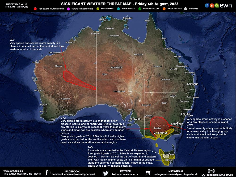 EWN Threat Map